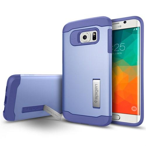 Spigen Samsung Galaxy S6 Edge Plus Kılıf Slim Armor Violet - SGP11703