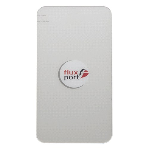 FluxPort Steel Beyaz Wireless Charger ( Kablosuz Şarj Cihazı) - FP-H-011