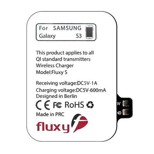 FluxPort Samsung Galaxy S3 için Kablosuz Şarj Aparatı - FP-F-013