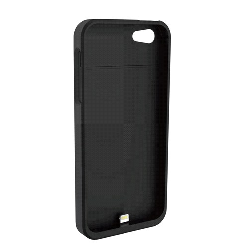 FluxPort Apple iPhone 5/5S için Kablosuz Şarj Kılıfı - Siyah - FP-F-004
