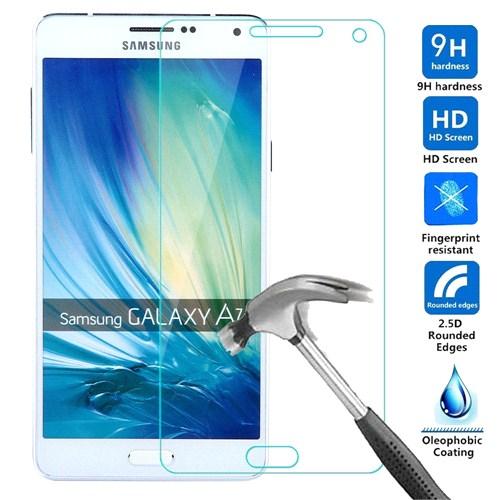Case 4U Samsung Galaxy A7 Kırılmaz Cam Ekran Koruyucu