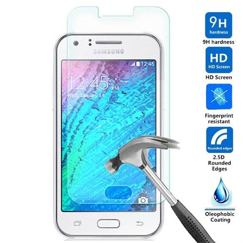 Case 4U Samsung Galaxy J1 Kırılmaz Cam Ekran Koruyucu