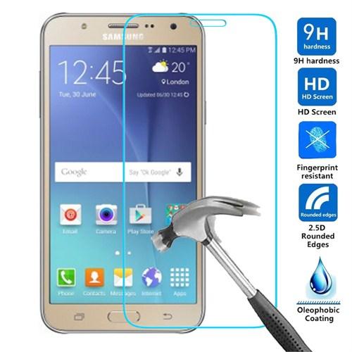 Case 4U Samsung Galaxy J7 Kırılmaz Cam Ekran Koruyucu