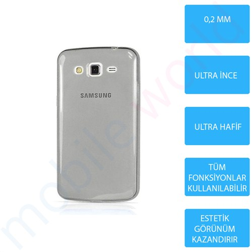 Mobile World Samsung Galaxy S3 Silikon + Cam Ekran Koruyucu + Kalem Seti Siyah - 2828