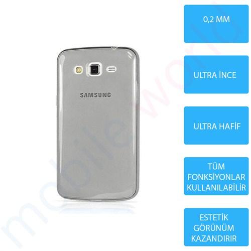 Mobile World Samsung Galaxy Alpha Silikon + Cam Ekran Koruyucu + Kalem Seti Siyah - 2785