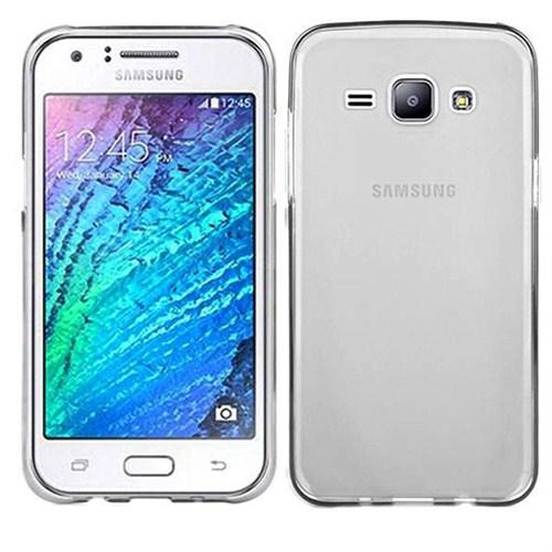 Case 4U Samsung Galaxy J7 Ultra İnce Silikon Kılıf Şeffaf