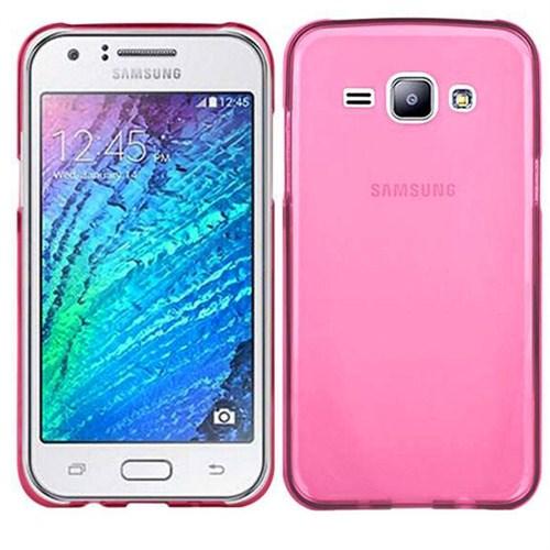 Case 4U Samsung Galaxy J7 Ultra İnce Silikon Kılıf Pembe