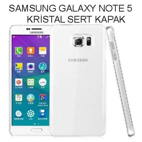 Markacase Samsung Galaxy Note 5 Kristal Sert Kılıf