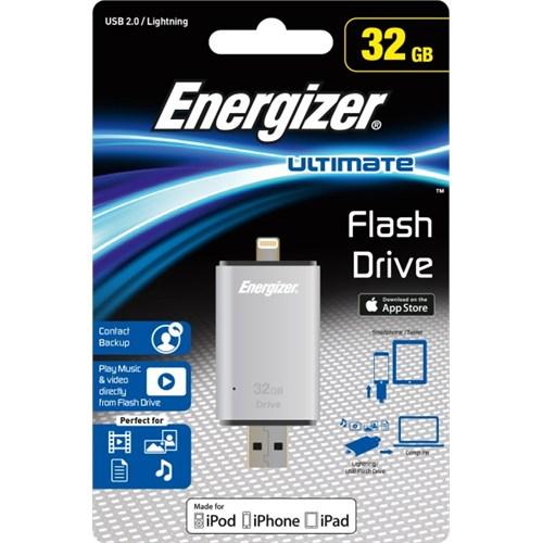 Energizer Ultimate USB 2.0 OTG - Apple Lightning Flash Drive 32GB