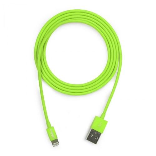 Ahha Donutstring Sync And Charge Data Kablosu 1.2 Metre (Yeşil)