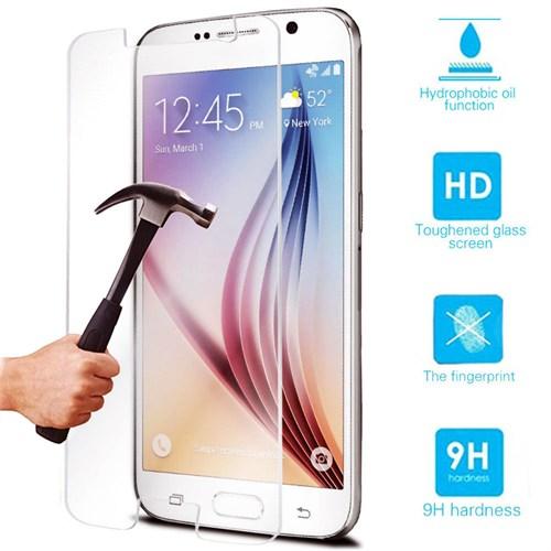 Lopard Samsung Galaxy J7 Kırılmaz Cam Temperli Ekran Koruyucu