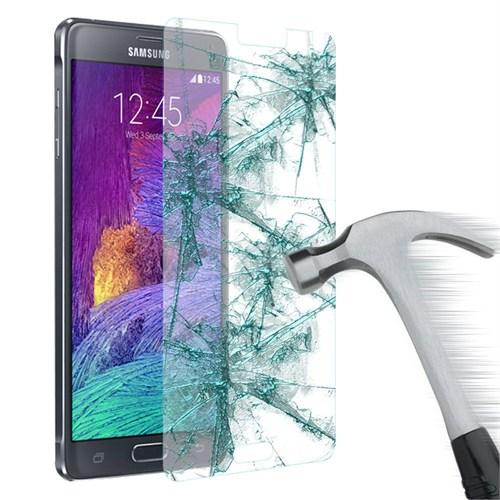 Lopard Samsung Galaxy Note 4 Temperli Cam Kırılmaz Ekran Koruyucu