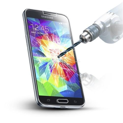 Lopard Samsung Galaxy S5 Kırılmaz Cam Temperli Ekran Koruyucu