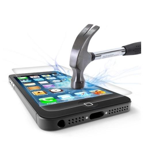Lopard Apple İphone 5 Kırılmaz Cam Temperli Ekran Koruyucu