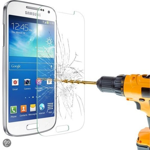 Lopard Samsung Galaxy S4 Mini Temperli Cam Kırılmaz Ekran Koruyucu