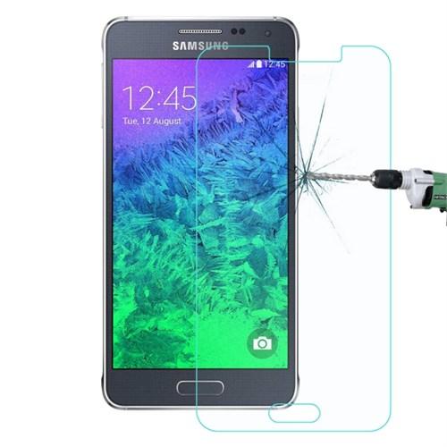 Lopard Samsung Galaxy Alpha Temperli Cam Kırılmaz Ekran Koruyucu