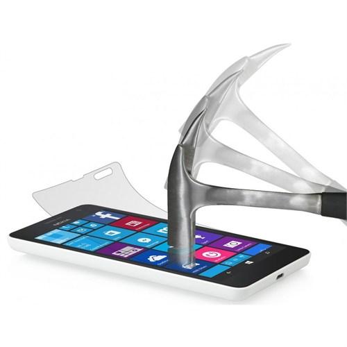 Lopard Microsoft Lumia 535 Temperli Cam Kırılmaz Ekran Koruyucu