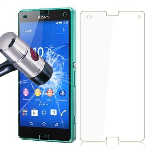 Lopard Sony Xperia Z3 Mini Compact Temperli Cam Kırılmaz Ekran Koruyucu
