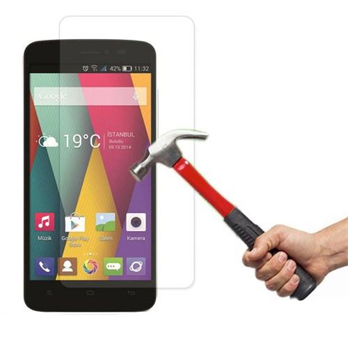 Lopard General Mobile Discovery 2 Mini Temperli Cam Kırılmaz Ekran Koruyucu