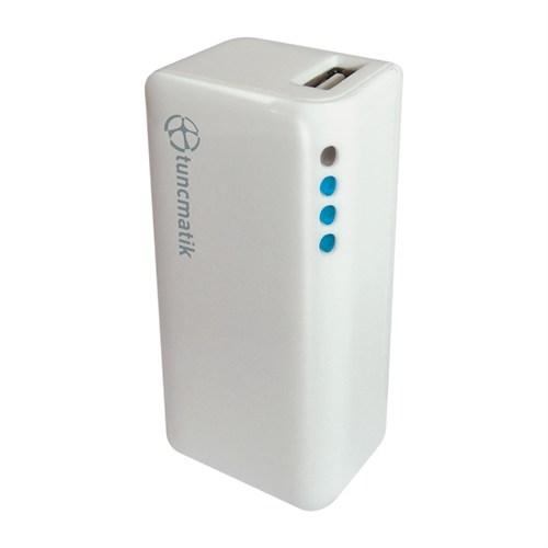 Tunçmatik Mini Charge 2000 mAh Beyaz Taşınabilir Şarj Cihazı - TSK5060