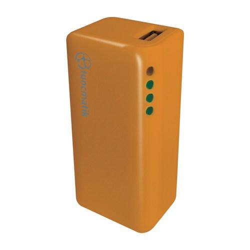 Tunçmatik Mini Charge 2000 mAh Orange Taşınabilir Şarj Cihazı - TSK5121