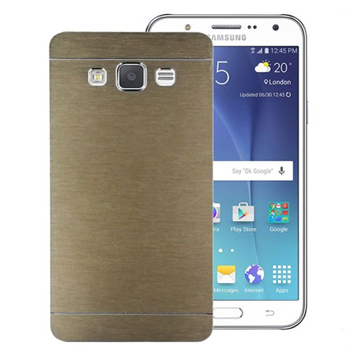 Microsonic Samsung Galaxy J7 Kılıf Hybrid Metal Gold