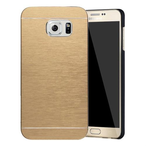 Microsonic Samsung Galaxy Note 5 Kılıf Hybrid Metal Gold
