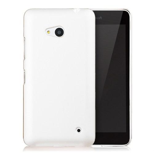 Microsonic Microsoft Lumia 640 Kılıf Premium Slim Beyaz