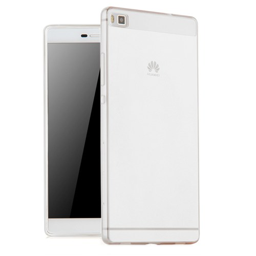 Microsonic Huawei Ascend P8 Max Kılıf Transparent Soft Beyaz