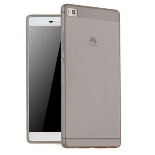 Microsonic Huawei Ascend P8 Max Kılıf Transparent Soft Siyah