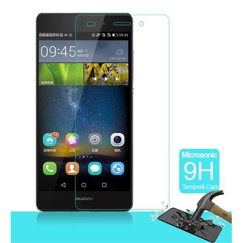Microsonic Huawei Ascend P8 Lite Temperli Cam Ekran Koruyucu Kırılmaz Film