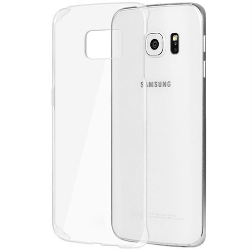 Microsonic Samsung Galaxy S6 Edge+ Plus Kılıf Kristal Şeffaf