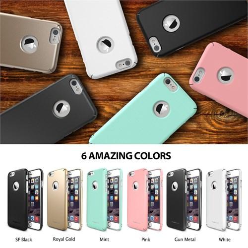 Rearth Apple iPhone 6 Plus Pembe Ringke Slim Kılıf