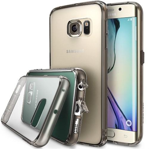 Ringke Samsung Galaxy S6 Edge Smoke Black Ringke Fusion Kılıf