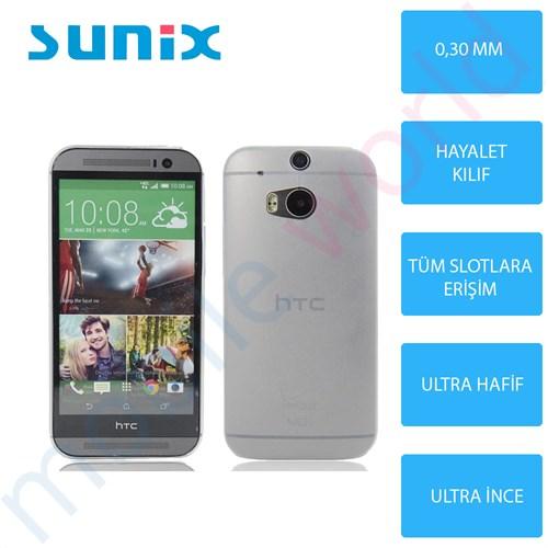 Sunix Htc Desire 816 Ultra İnce Silikon Kapak Şeffaf
