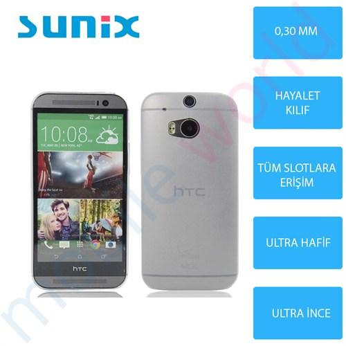 Sunix Htc Desire 620 Ultra İnce Silikon Kapak Şeffaf