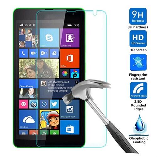 Case 4U Microsoft Lumia 535 Kırılmaz Cam Ekran Koruyucu