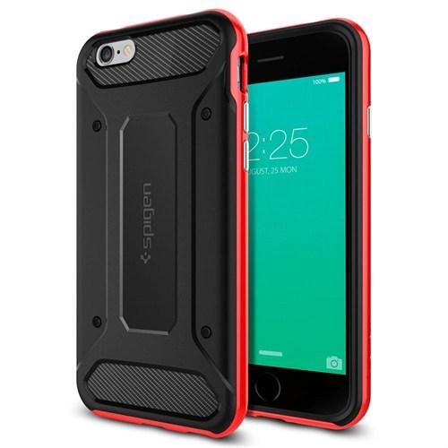 Spigen Sgp iPhone 6S Kılıf Neo Hybrid Carbon Dante Red - SGP11623
