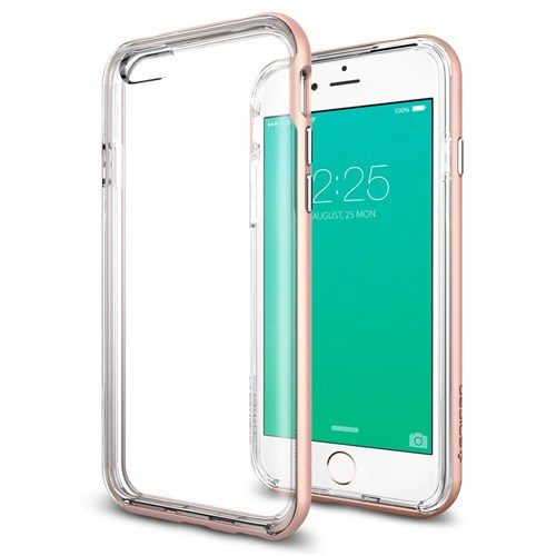 Spigen Apple iPhone 6S Kılıf Neo Hybrid EX Rose Gold - 11725