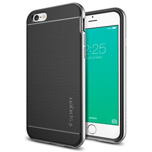 Spigen Sgp iPhone 6S Kılıf Neo Hybrid Satin Silver -SGP11620