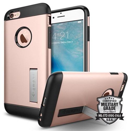 Spigen Apple iPhone 6S Kılıf Slim Armor Rose Gold - 11723