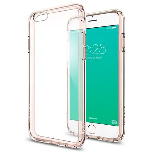 Spigen Sgp iPhone 6S Kılıf Ultra Hybrid Rose Crystal - SGP11722
