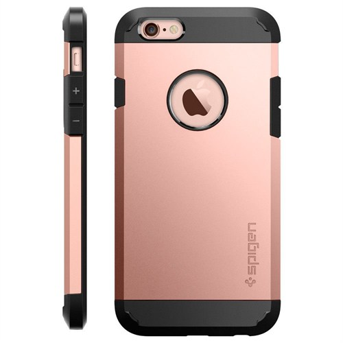 Spigen Sgp iPhone 6S Kılıf Tough Armor Rose Gold - SGP11741