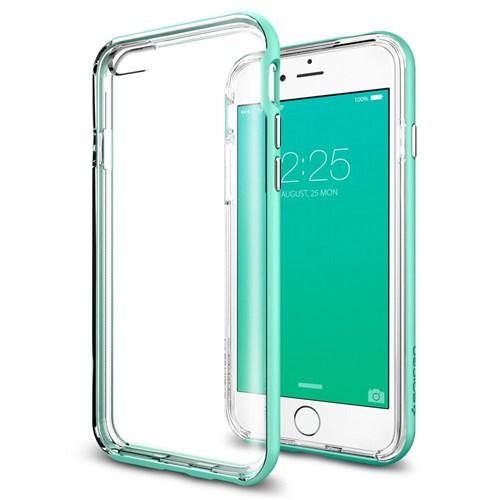 Spigen Sgp iPhone 6S Plus Kılıf Spigen Neo Hybrid EX Mint Green - SGP11672
