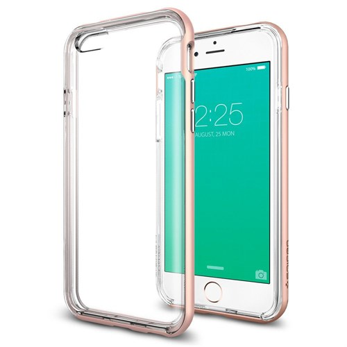 Spigen Sgp iPhone 6S Plus Kılıf Spigen Neo Hybrid EX Rose Gold - SGP11729
