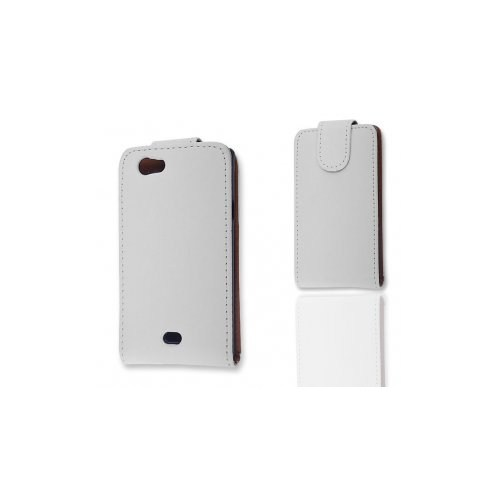 Ally Sony Xperia Miro St23i Beyaz Kapaklı Kılıf
