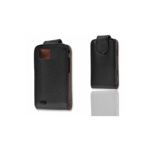 Ally Samsung S5600 Preston Siyah Kapaklı Kılıf