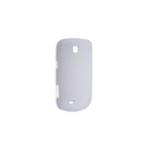 Ally Samsung Galaxy Mini S5570 İnce Şeffaf Kılıf Beyaz