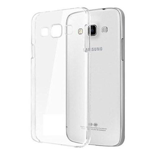 Lopard Samsung Galaxy E7 Kılıf 0.2Mm Şeffaf Silikon Arka Kapak