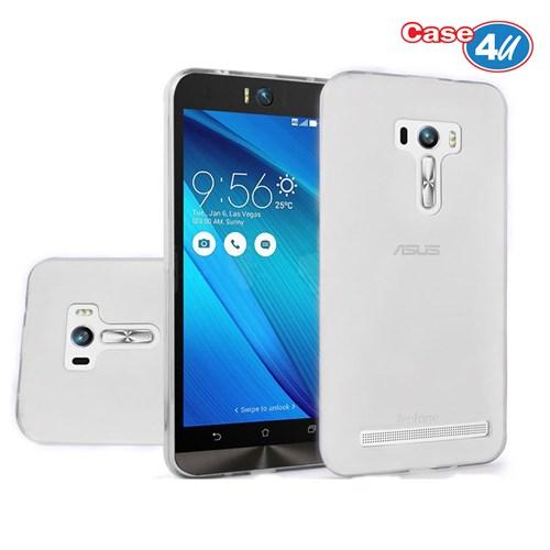 Case 4U Asus Zenfone 2 Selfie Soft Silikon Kılıf Şeffaf